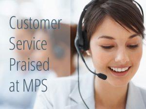 Customer Service Praised