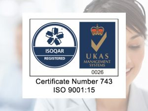 ISO9001:15 Certification