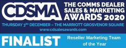 CDSMA Reseller Marketing Team of the Year